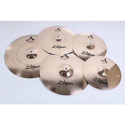 "Zildjian A Custom Cymbal Pack with Free 18"" A Custom Crash"