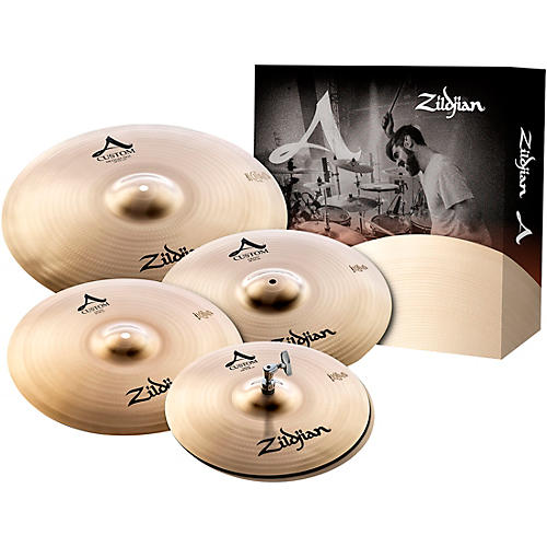 Zildjian A Custom Cymbal Pack with Free 18