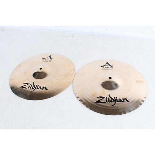 1d97971e8f98 Open Box Zildjian A Custom Mastersound Hi-Hat Pair 13 in ...