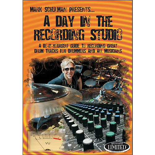 Hudson Music A Day In The Recording Studio Drum DVD