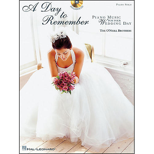 Hal Leonard A Day To Remember (Book/CD) arranged for piano solo