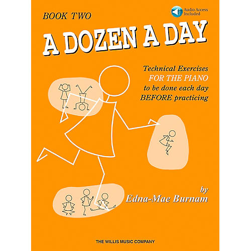 Willis Music A Dozen A Day - Book 2 Book/CD
