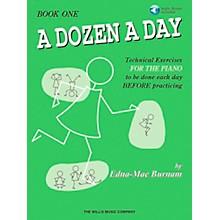 Willis Music A Dozen A Day Book 1 Book/CD