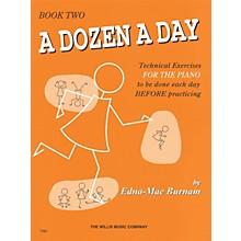 Hal Leonard A Dozen A Day Book 2 (Orange cover)