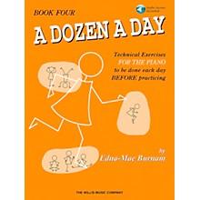 Willis Music A Dozen A Day Book 4 Book/CD