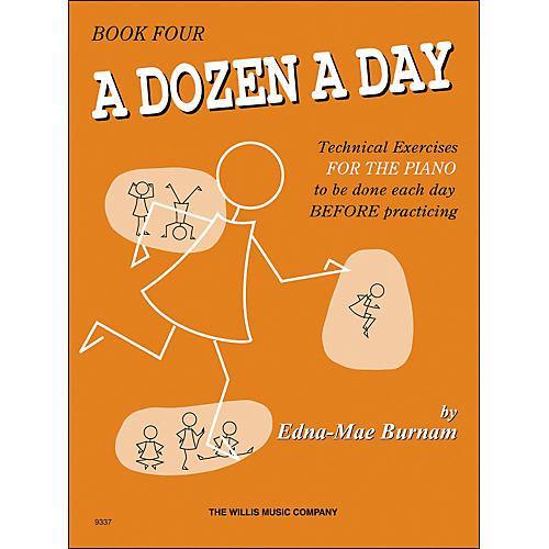 Willis Music A Dozen A Day Book 4 Technical Exercises for Piano