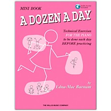 Willis Music A Dozen A Day Mini Book (Book/Online Audio)
