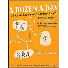 Willis Music A Dozen A Day Piano - Play with Ease In Many Keyes Technical Exercises