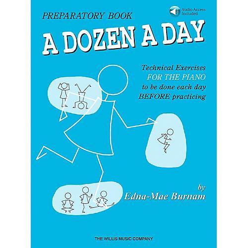 Willis Music A Dozen A Day Preparatory Book/CD