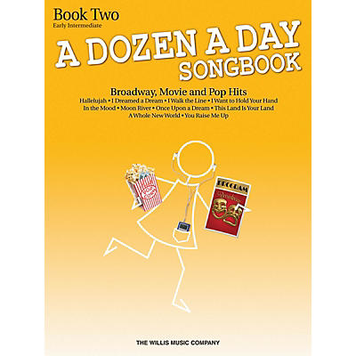 Willis Music A Dozen A Day Songbook - Book 2 (Early Inter Level) Willis Series Book by Various