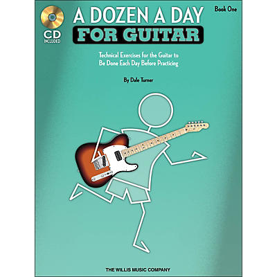 Willis Music A Dozen A Day for Guitar - Book 1 Book/CD Pack