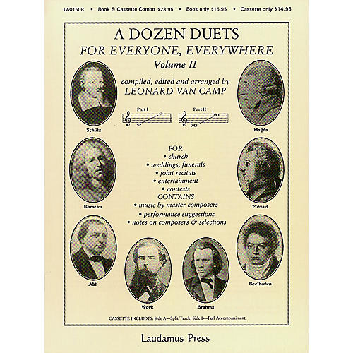 Laudamus Press A Dozen Duets For Everyone Everywhere #2 Vocal Duets