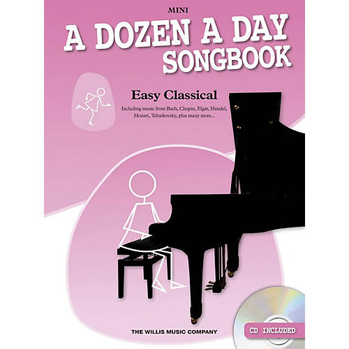 Music Sales A Dozen a Day Songbook - Easy Classical, Mini Willis Series Softcover with CD Composed by Various
