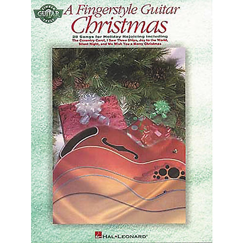Hal Leonard A Fingerstyle Guitar Christmas Tab Songbook