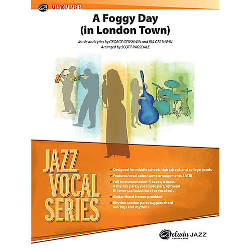 Alfred A Foggy Day Jazz Vocal Band Grade 3 Set