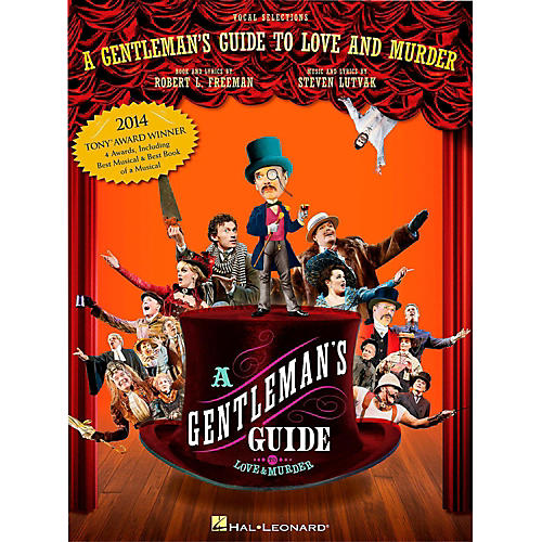 Hal Leonard A Gentleman's Guide To Love & Murder - Piano/Vocal Selections