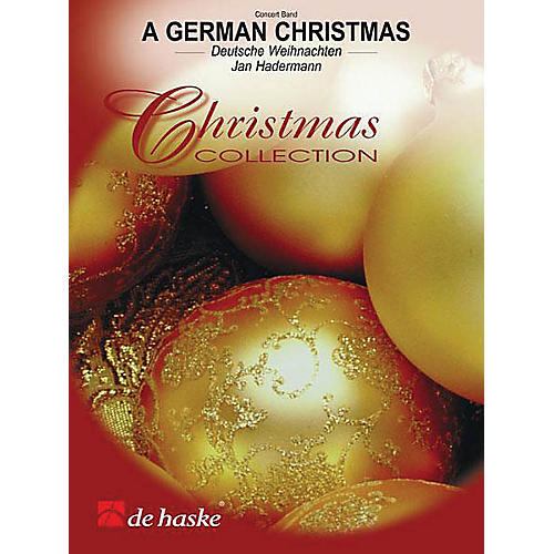 Hal Leonard A German Christmas Score Only Concert Band