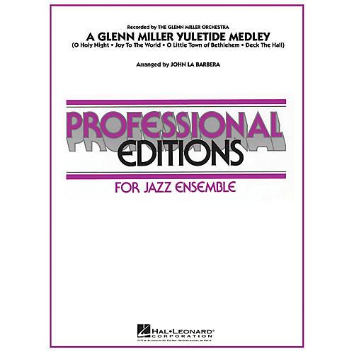 Hal Leonard A Glenn Miller Yuletide Medley Jazz Band Level 5 Arranged by John La Barbera