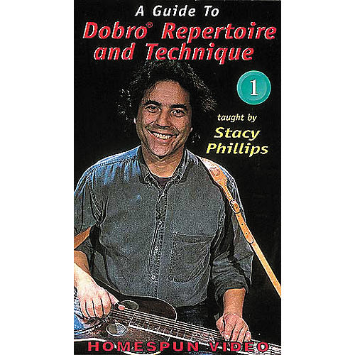 Homespun A Guide to Dobro Repertoire and Technique 1 (VHS)