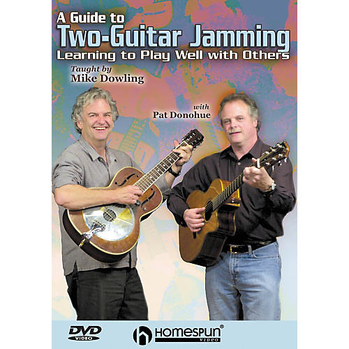Homespun A Guide to Two-Guitar Jamming (DVD)