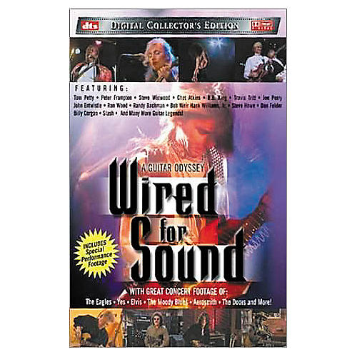 Music CD A Guitar Odyssey: Wired for Sound (DVD)