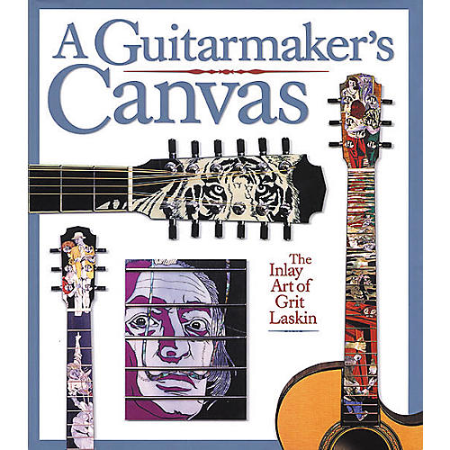 Backbeat Books A Guitarmaker's Canvas - Inlay Art Book