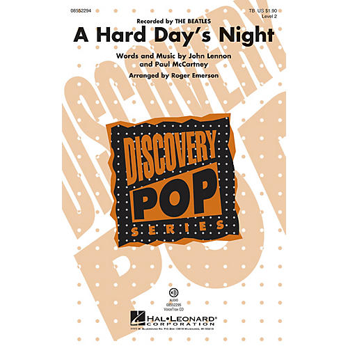 Hal Leonard A Hard Day's Night (Discovery Level 2) TB by The Beatles arranged by Roger Emerson