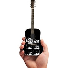 Axe Heaven A Hard Days Night Fab Four Tribute Acoustic Guitar Officially Licensed Miniature Guitar Replica