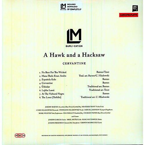Alliance A Hawk and a Hacksaw - Cervantine
