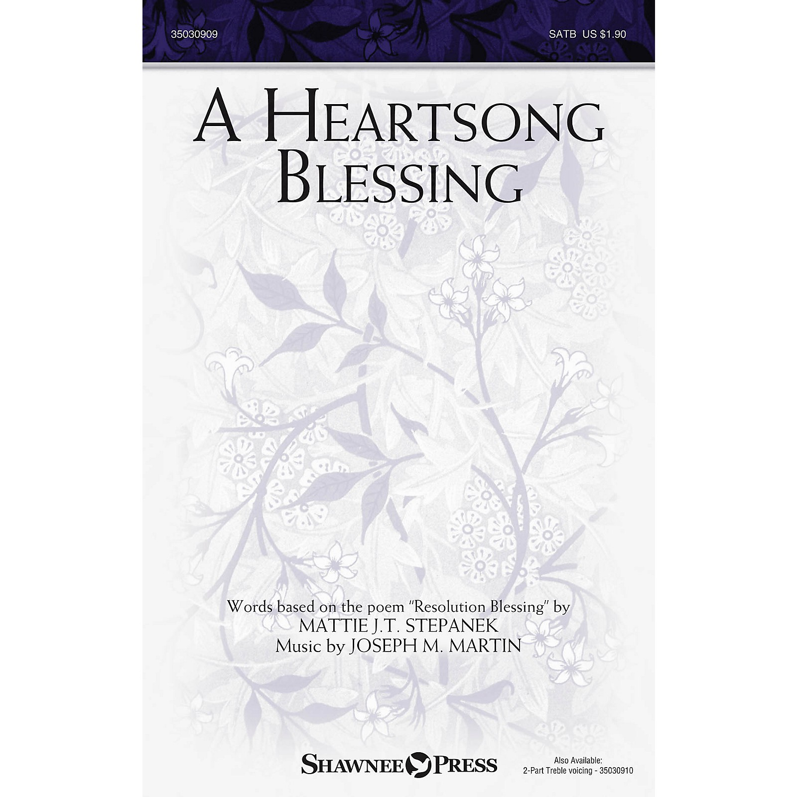 Shawnee Press A Heartsong Blessing Studiotrax CD Composed by Joseph M. Martin