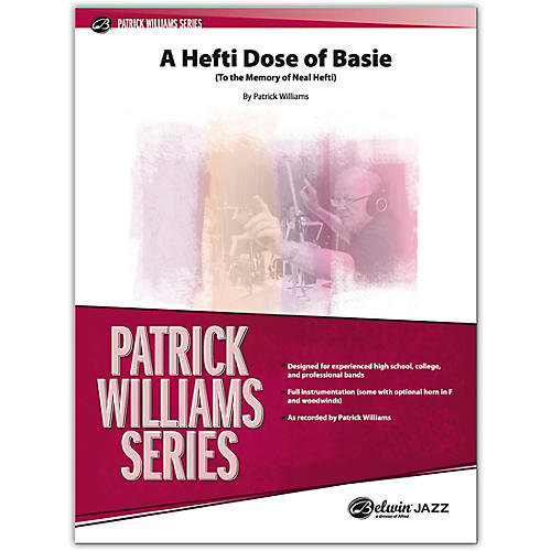 BELWIN A Hefti Dose of Basie Conductor Score 4 (Medium Advanced / Difficult)