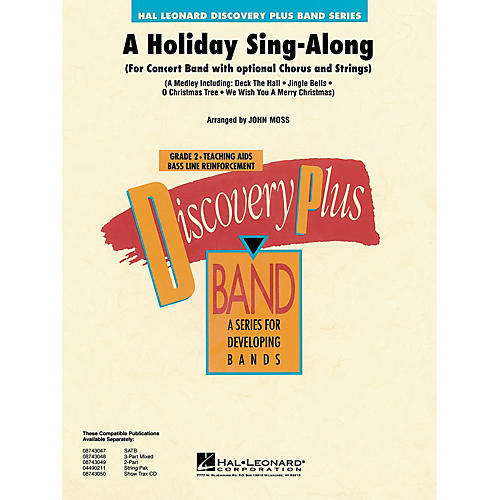 Hal Leonard A Holiday Sing-Along - Discovery Plus Concert Band Series Level 2 arranged by John Moss