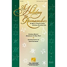 Hal Leonard A Holiday to Remember - A Multi-Traditional Choral Celebration (Medley) SATB Singer arranged by Mac Huff