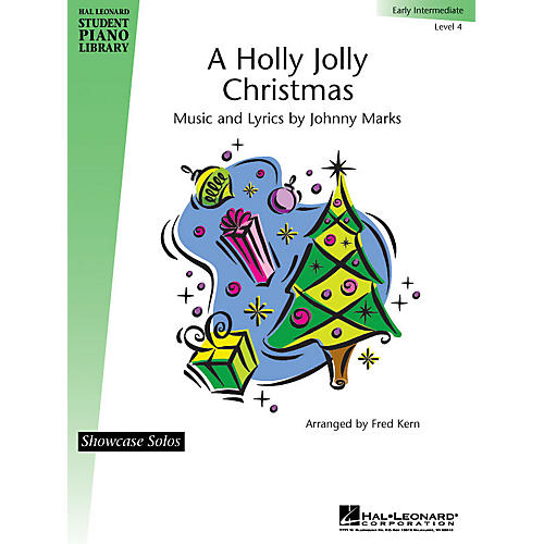 Hal Leonard A Holly Jolly Christmas Piano Library Series by Johnny Marks (Level Early Inter)
