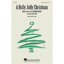 Hal Leonard A Holly Jolly Christmas TTBB A Cappella arranged by Kirby Shaw