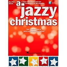 Hal Leonard A Jazzy Christmas - Alto Sax Play-Along Book/CD