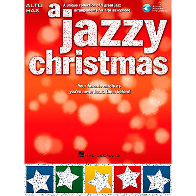Hal Leonard A Jazzy Christmas - Alto Sax Play-Along Book/CD