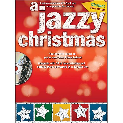 Hal Leonard A Jazzy Christmas - Clarinet Play-Along Book/CD