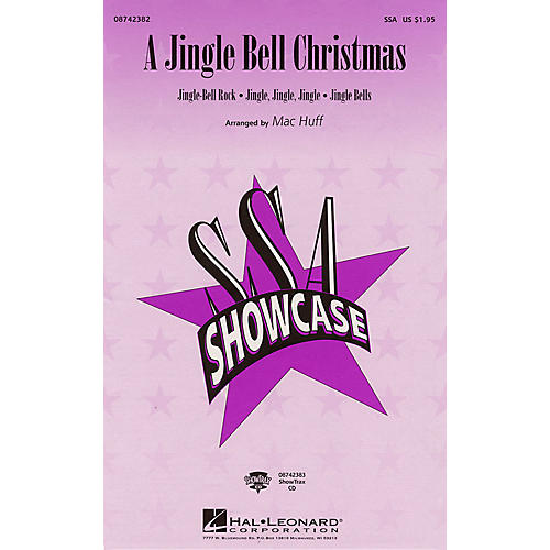 Hal Leonard A Jingle Bell Christmas (Medley) SSA arranged by Mac Huff