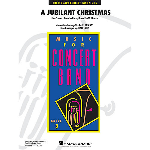 Hal Leonard A Jubilant Christmas (Medley) - Young Concert Band Level 3 arranged by Paul Jennings