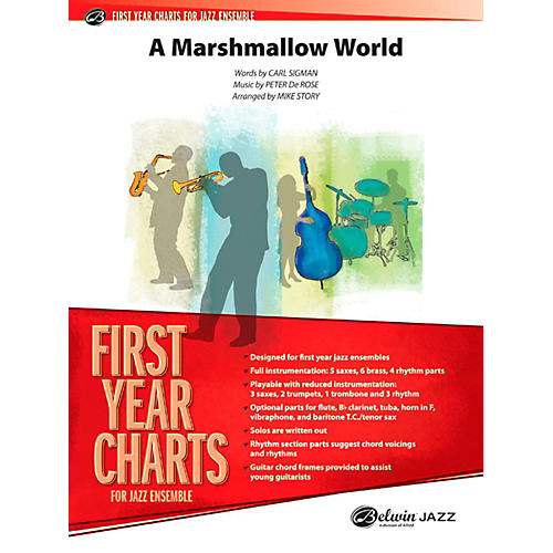 Alfred A Marshmallow World Jazz Band Grade 1