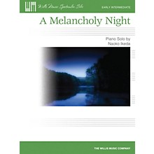 Willis Music A Melancholy Night (Early Inter Level) Willis Series by Naoko Ikeda