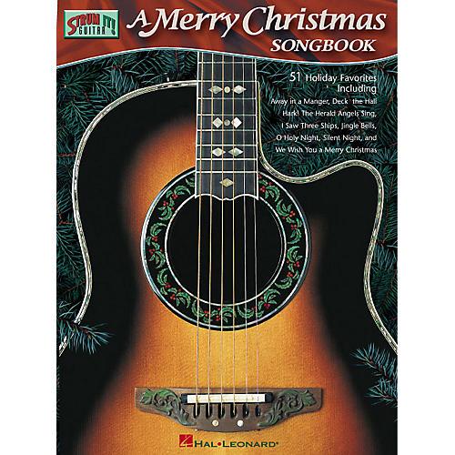 Hal Leonard A Merry Christmas Songbook Strum It (Guitar) Series