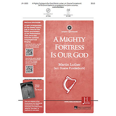 Jubal House Publications A Mighty Fortress Is Our God SATB arranged by Duane Funderburk