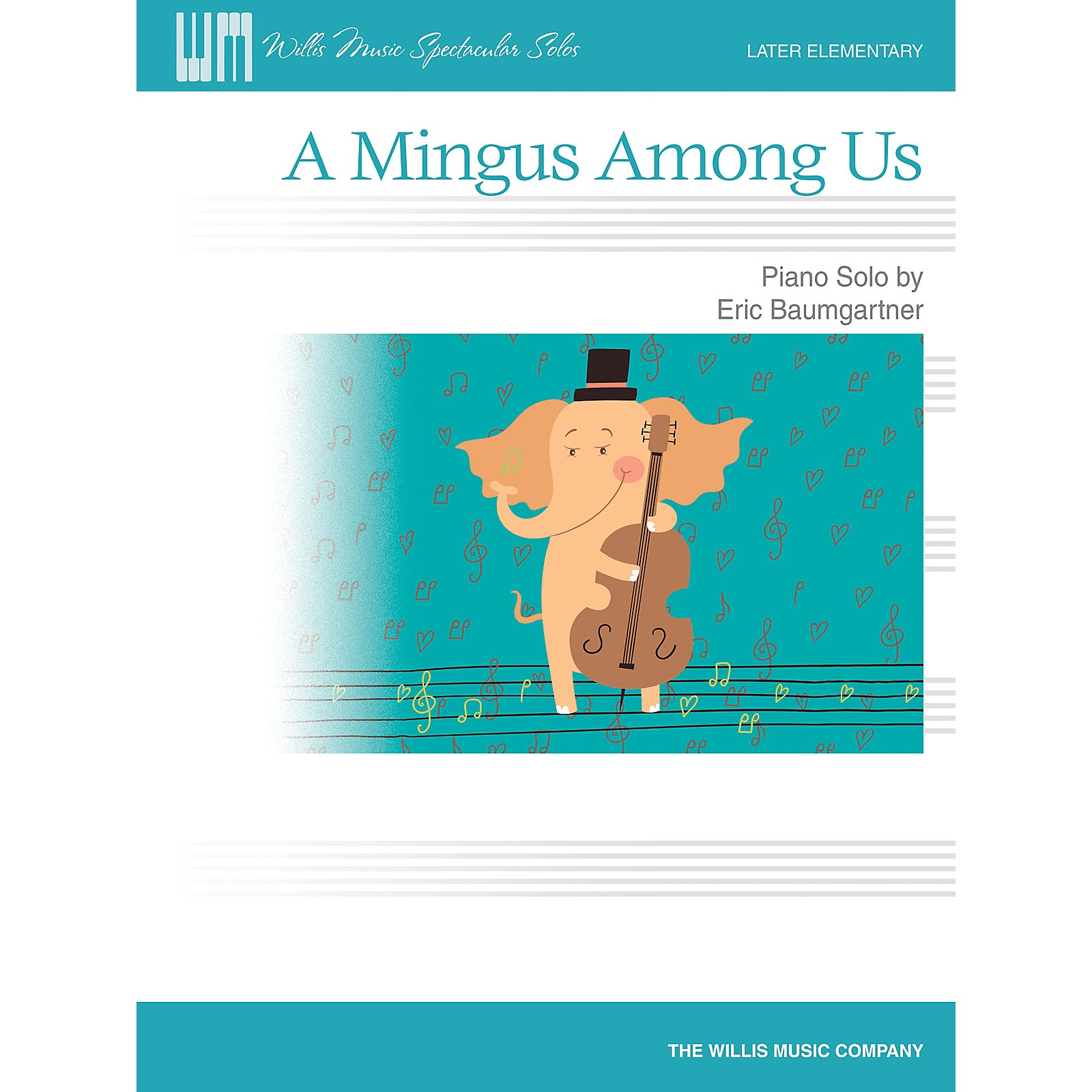 Willis Music A Mingus Among Us - Later Elementary Level Piano Solo by Eric Baumgartner
