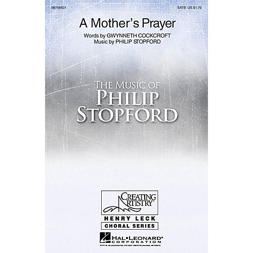 Hal Leonard A Mother's Prayer 2-Part Composed by Philip Stopford