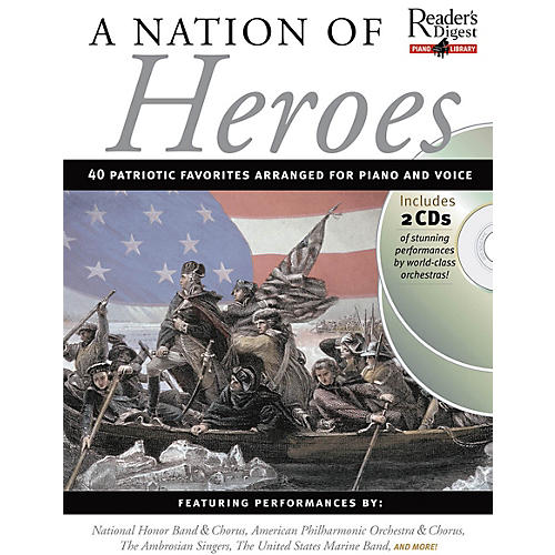 Music Sales A Nation of Heroes Music Sales America Series Softcover with CD