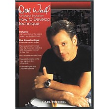 Carl Fischer A Natural Evolution: How to Develop Technique by Dave Weckl DVD
