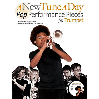 Music Sales A New Tune A Day - Pop Performance Pieces For Trumpet Book/CD