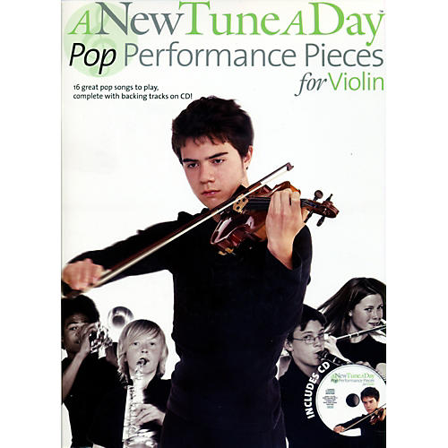 Music Sales A New Tune A Day - Pop Performance Pieces for Violin Book/CD